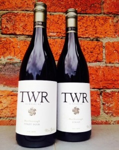 TWR syrah and pinot